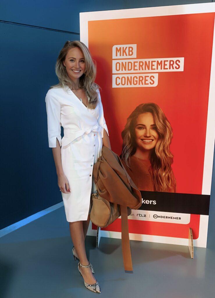 Kelly Weekers MKB Ondernemerscongres