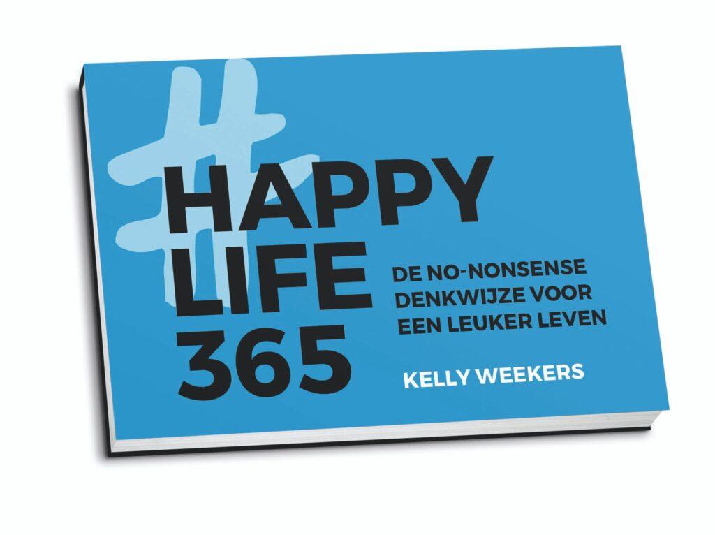 Happy Life 365 dwarsligger boek